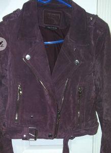 BLANKNYC moto suede jacket